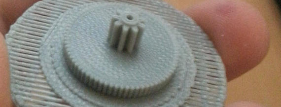 ZORTRAX Imold 3D Printed Gear