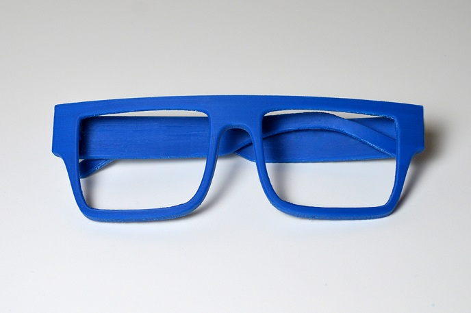 ZORTRAX 3D Printed Closed Ocean Glasses