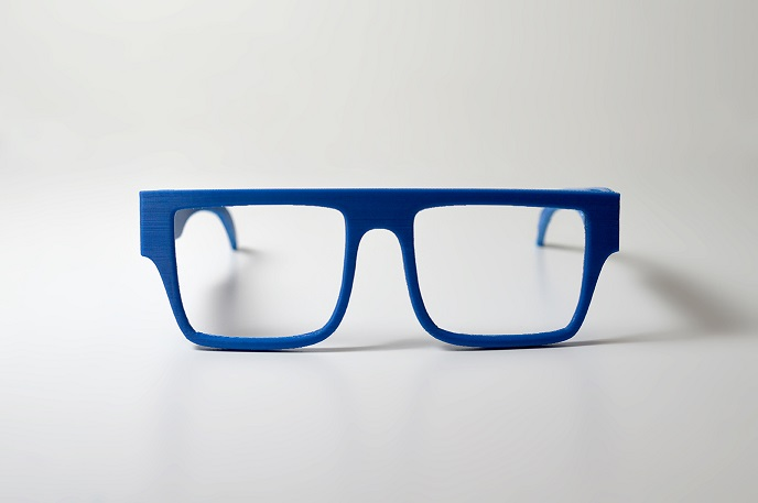 ZORTRAX 3D Printed Front Ocean Glasses