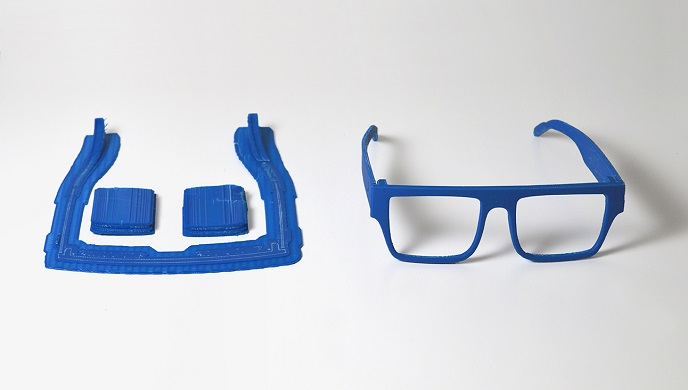 ZORTRAX 3D Printed Two Ocean Glasses