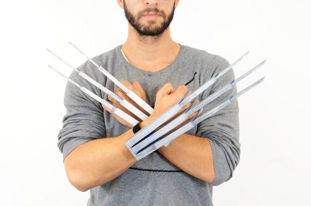 ZORTRAX Samuel L Bernier Wolverine 3D Printed Claws