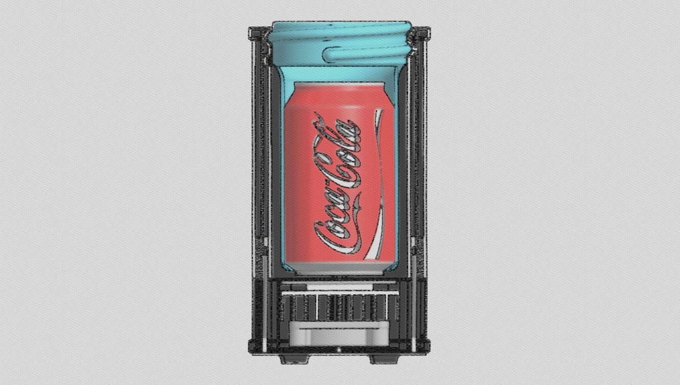 ZORTRAX Z-FRIDGE Design