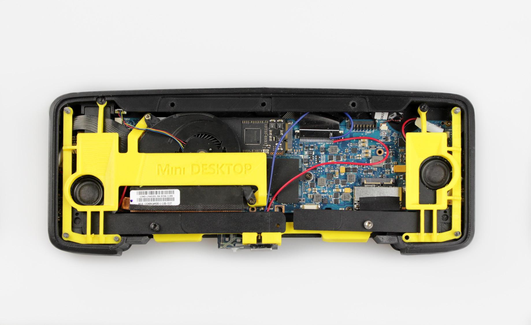 ZORTRAX Mini Computer 3D Printed Case Z-HIPS Z-ULTRAT