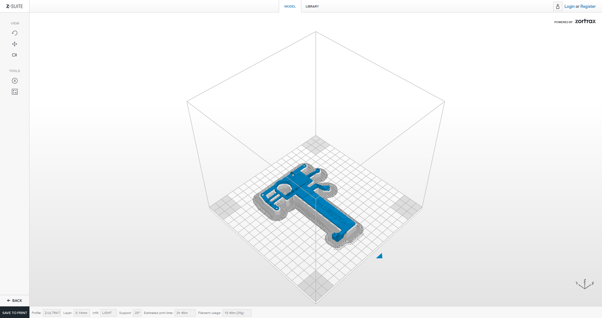 ZORTRAX Mini Computer 3D Printed Case Z-SUITE