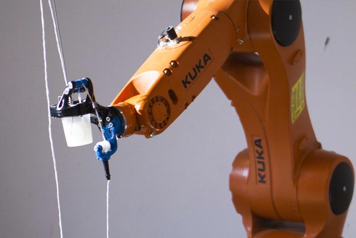 ZORTRAX 3D-printed KUKA robot