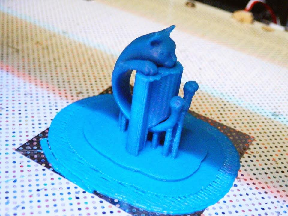 ZORTRAX 3D Printing Cat Ring Z-ULTRAT