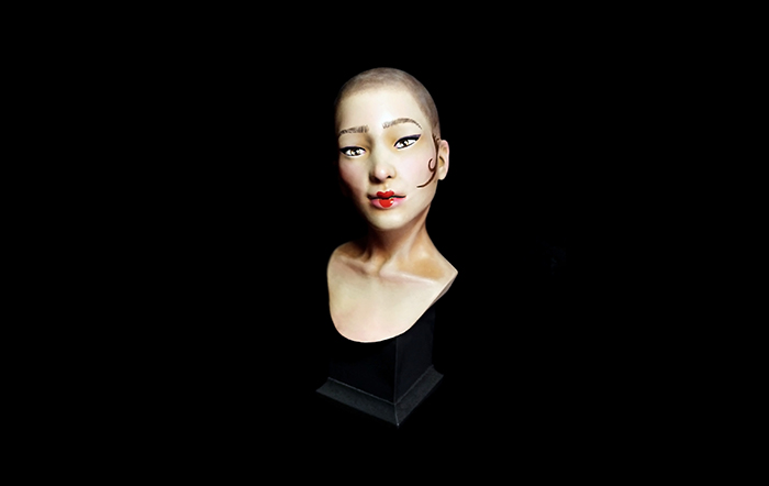 ZORTRAX 3D Printed Woman Bust