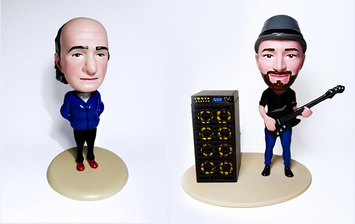 ZORTRAX 3D Printed Caricature Figure
