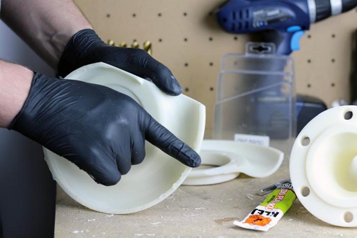 ZORTRAX 3D Printed Post-processing Manual Glue