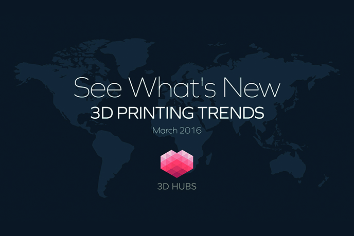 ZORTRAX 3D Printing Trends March 2016