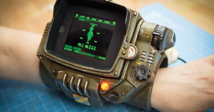 ZORTRAX 3D Printed Pip-Boy Fallout