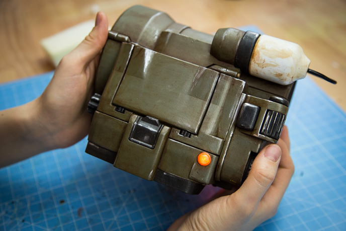 ZORTRAX 3D Printed Pip-Boy Fallout Casing