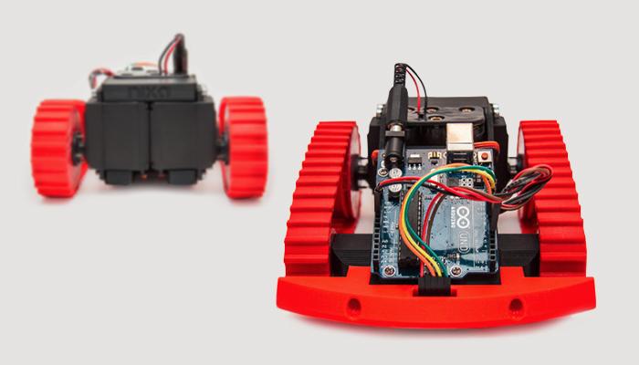 ZORTRAX 3D Printed NIXA Line Follower