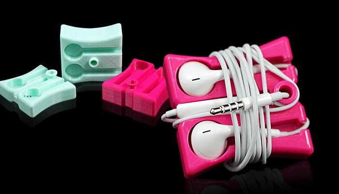 ZORTRAX Library 3D Printed Earphone Holders