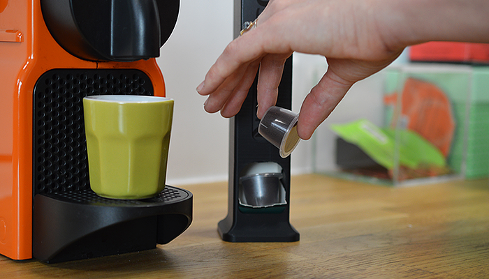 ZORTRAX 3D printed coffee capsules dispenser