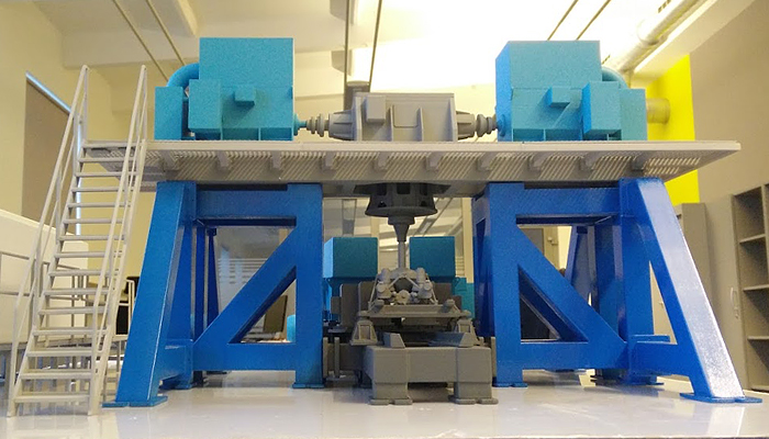 ZORTRAX Tridos Aviatest 3D Printed Testing Rig
