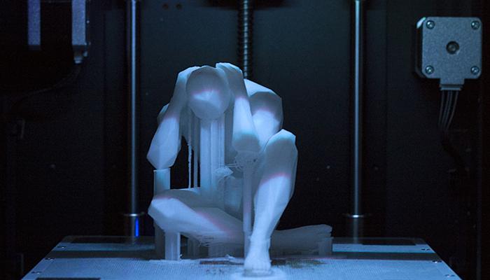 ZORTRAX M200 3D Printing Sculpture Marcello Silvestre