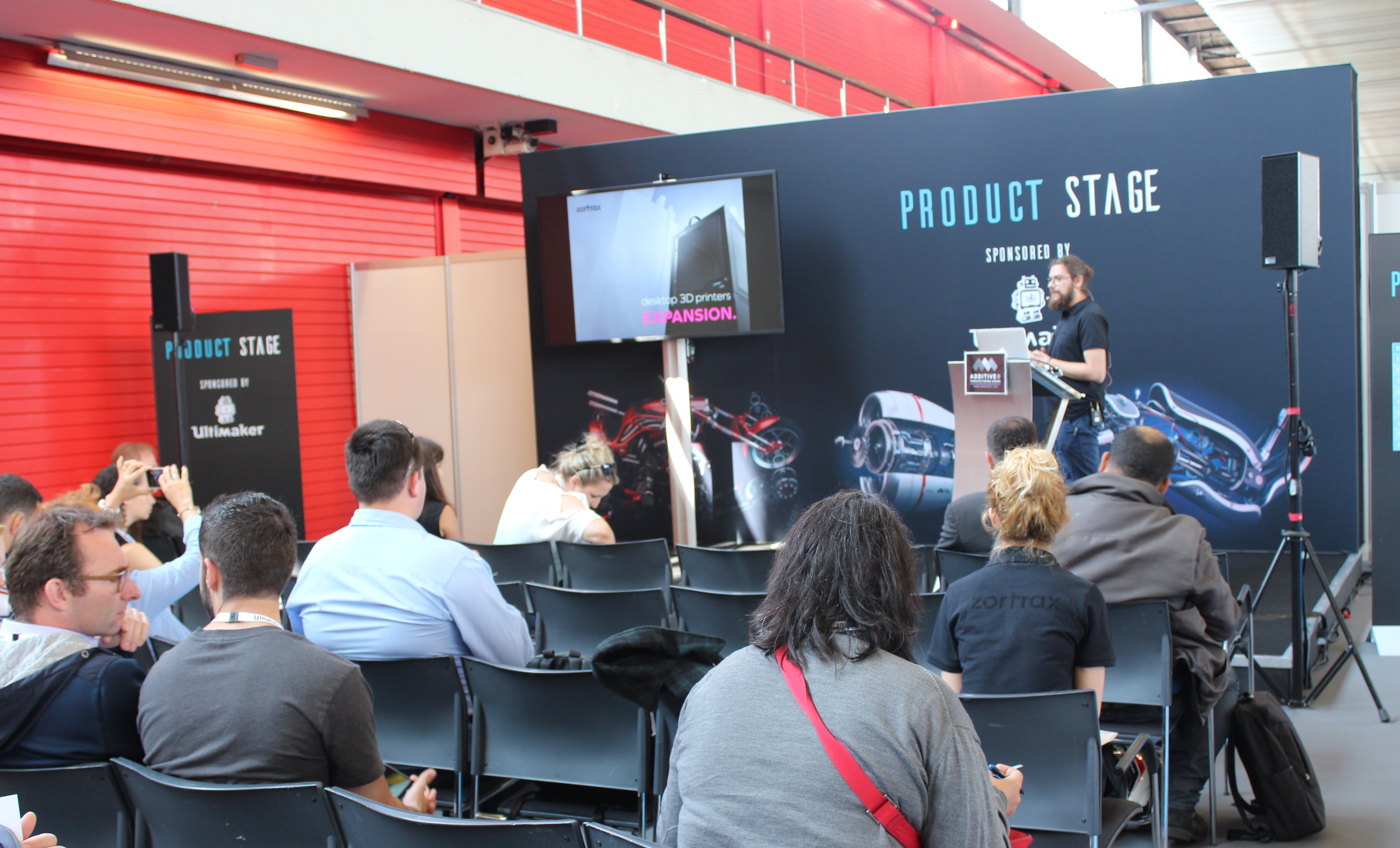 ZORTRAX Product Stage Amsterdam