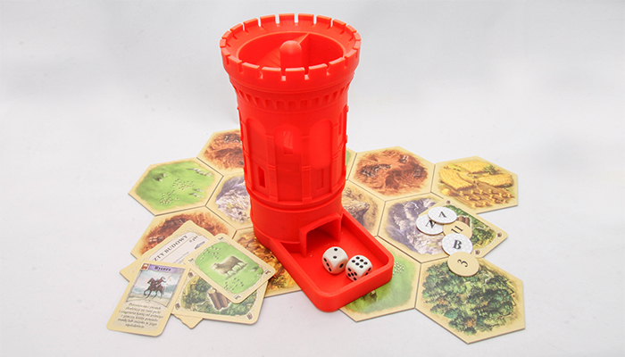 ZORTRAX 3D Printed Dice Tower Board Game