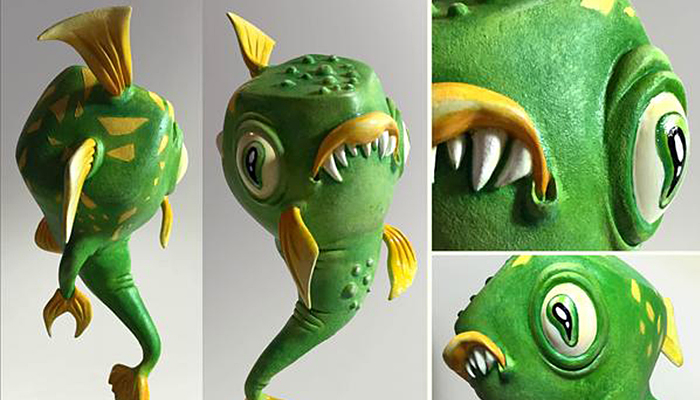ZORTRAX 3D printed fish toy