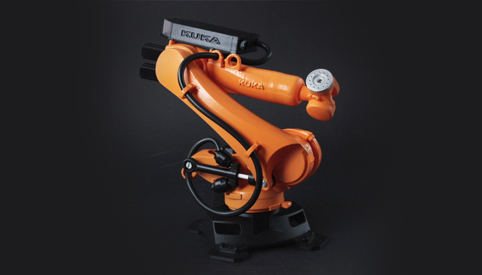 ZORTRAX Bartłomiej Gaczorek 3D Printed Kuka Robot