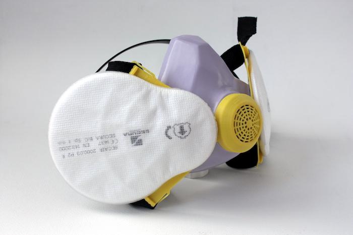 ZORTRAX Bartłomiej Gaczorek 3D Printed Mask
