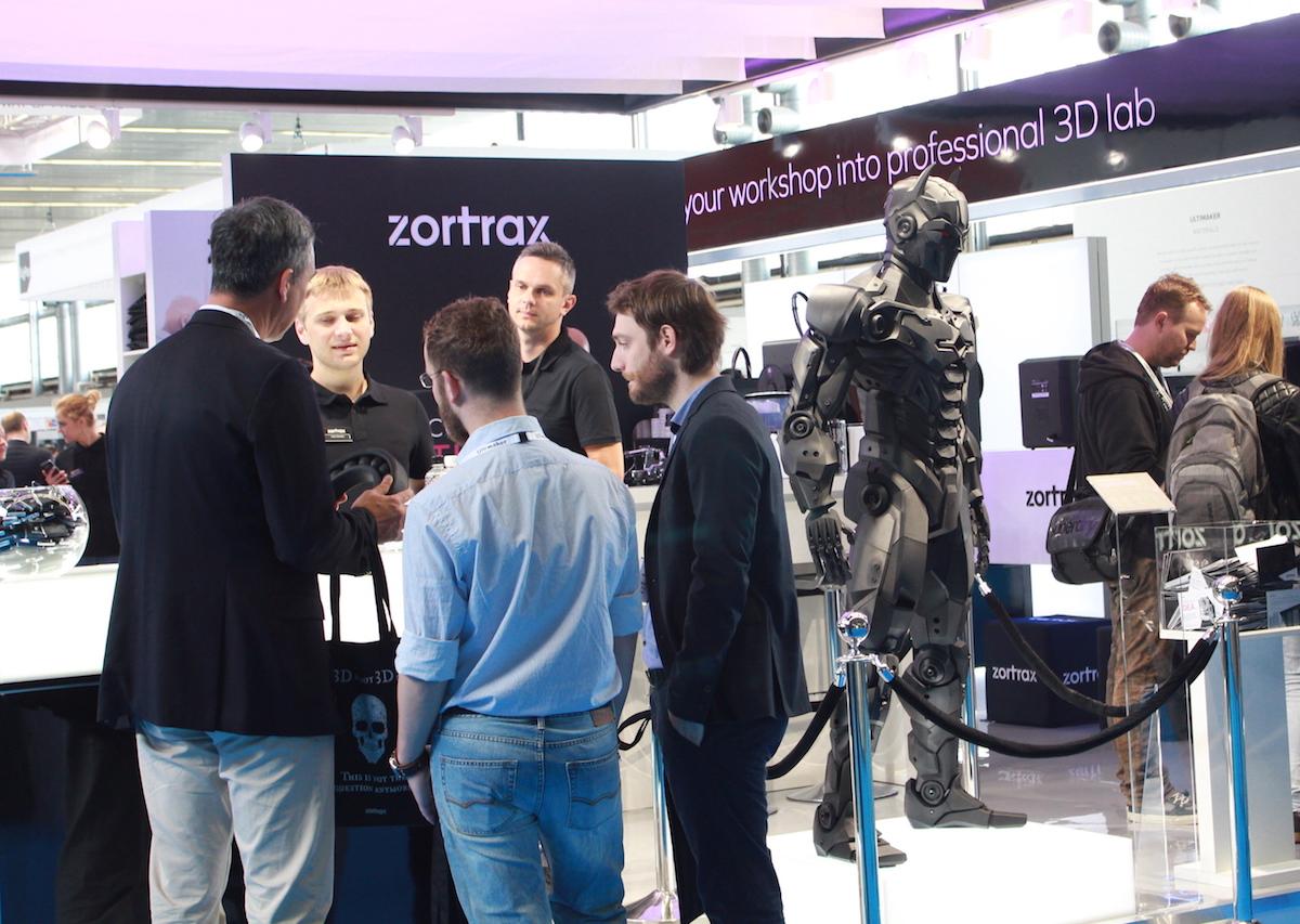 ZORTRAX Additive Manufacturing Amsterdam 2016