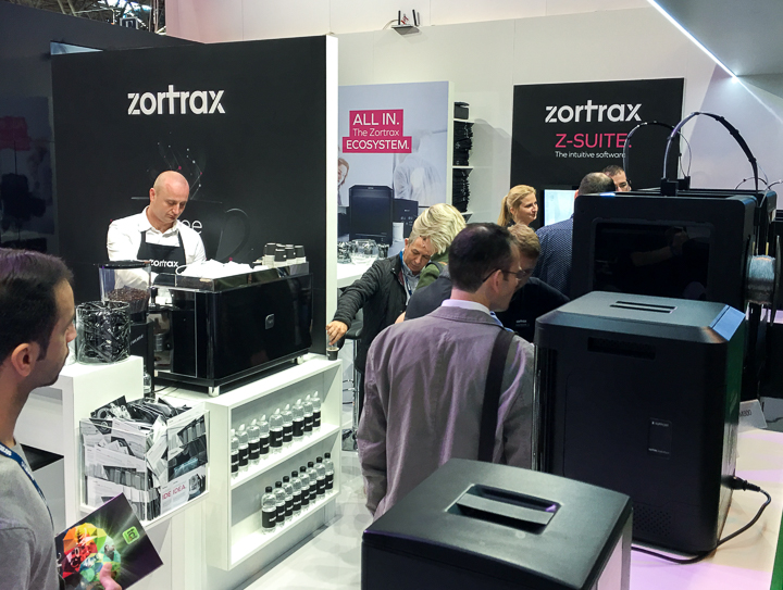 ZORTRAX 3D Printer TCT Birmingham