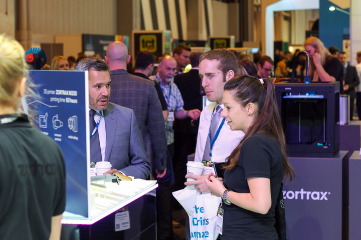 ZORTRAX TCT Birmingham 2016 Visitors