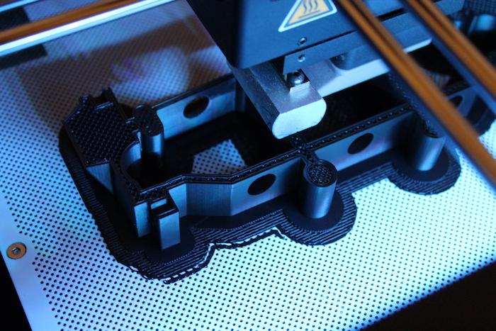 ZORTRAX F1 Wheel 3D Printing