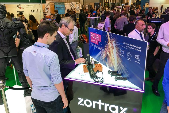 ZORTRAX TCT Birmingham 2016 3D Printed Grinder