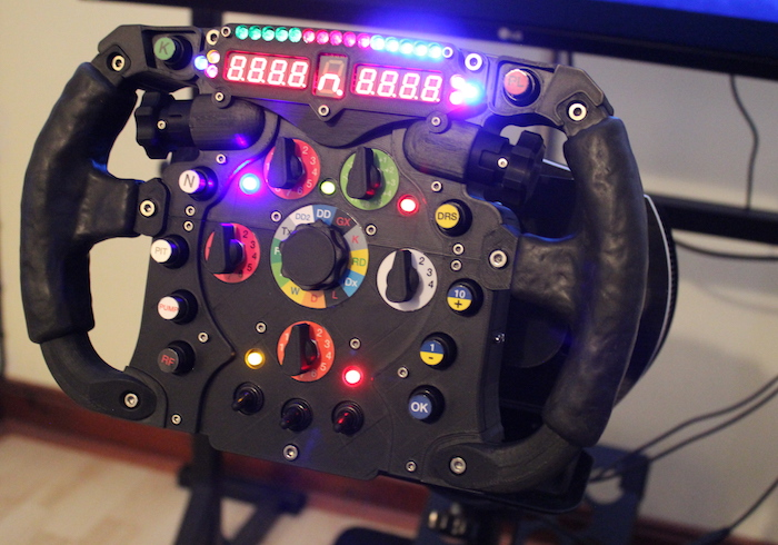 ZORTRAX 3D Printed F1 Steering Wheel