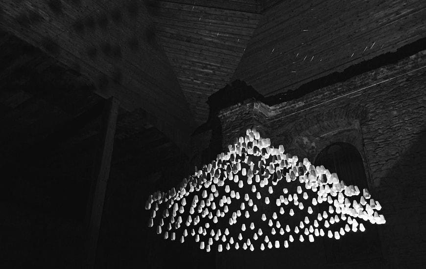 ZORTRAX Church 3D Printed Lamps