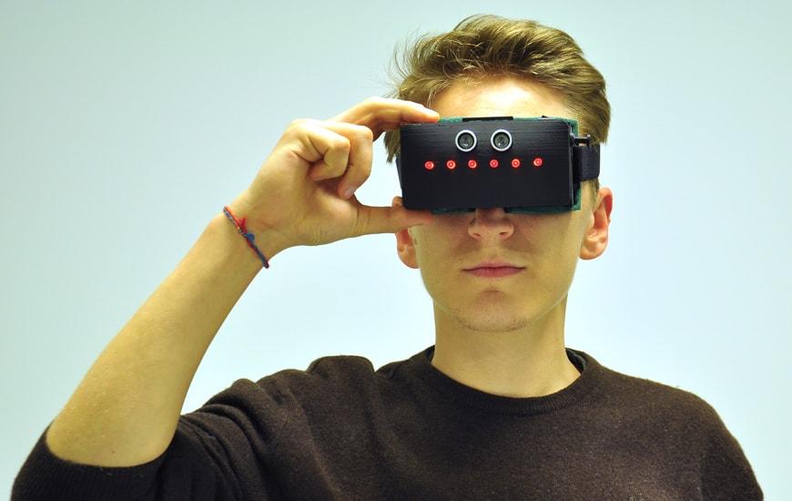 ZORTRAX Blind&Seek 3D Printed Device