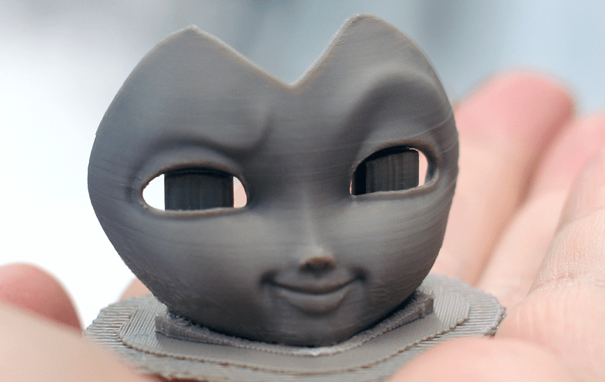 ZORTRAX 3D Printed Maleficent Figurine