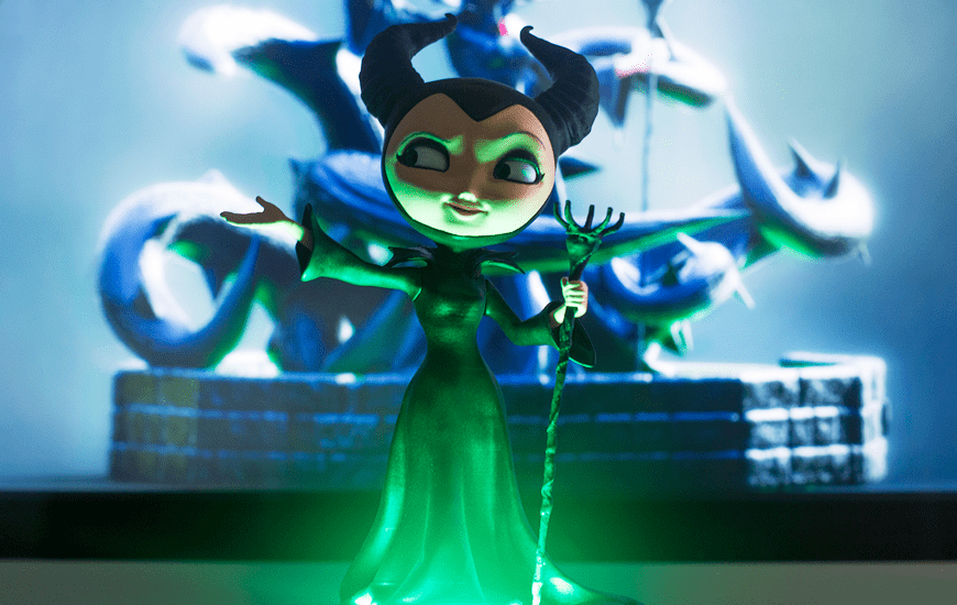 ZORTRAX 3D Printed Maleficent Witch Toy