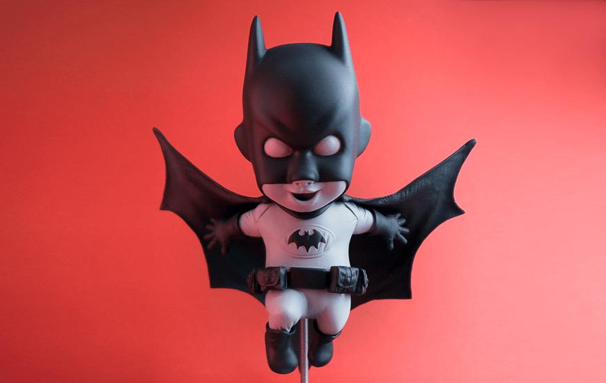 ZORTRAX 3D Printed Batman Toy