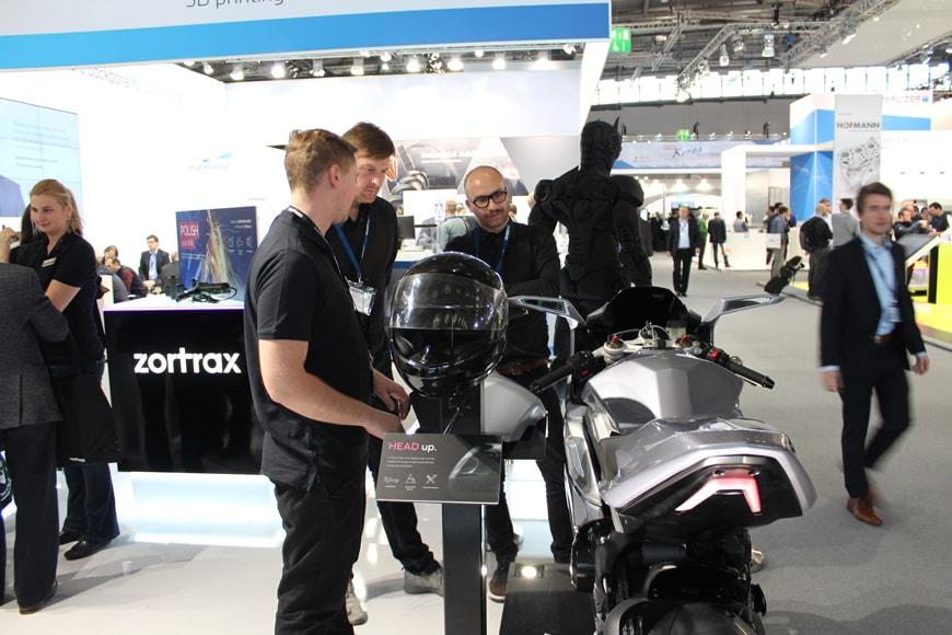 ZORTRAX M300 3D Printing Motorcycle Superhero
