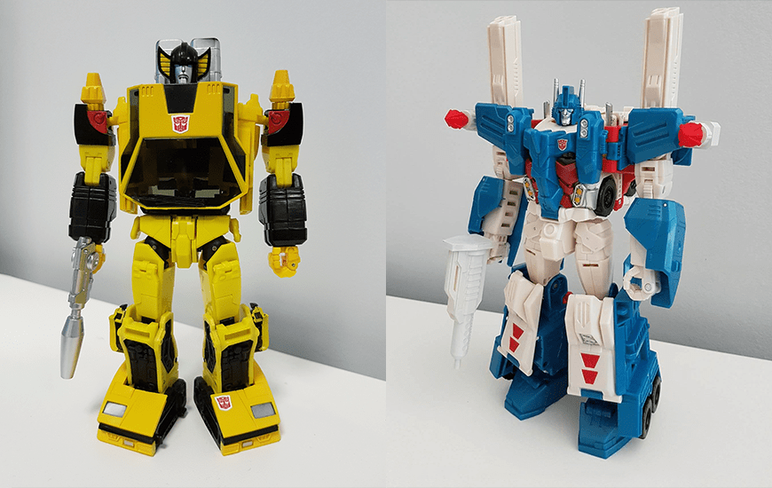 ZORTRAX Transformers 3D Printed Toys