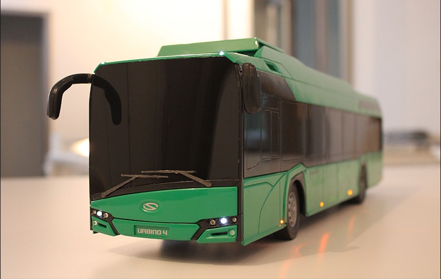 ZORTRAX Model Art Lisieccy Bus