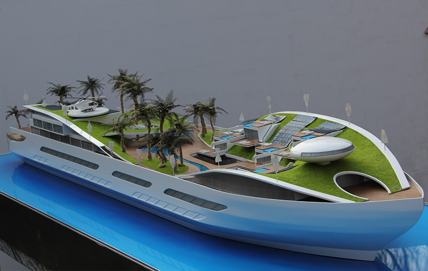ZORTRAX Model Art Lisieccy Cruise Ship