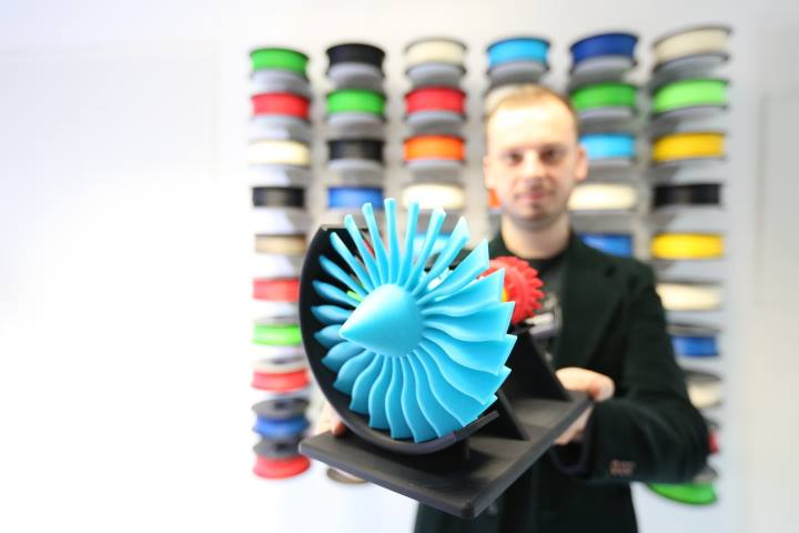 Zortrax 3D printed engine