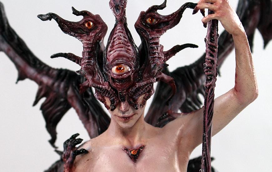 ZORTRAX Nikita Lebedev Corrupted Watcher Head