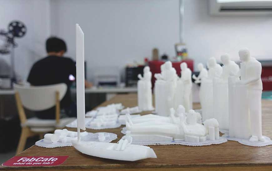 ZORTRAX Thailand 3D Printed King Zoetrope