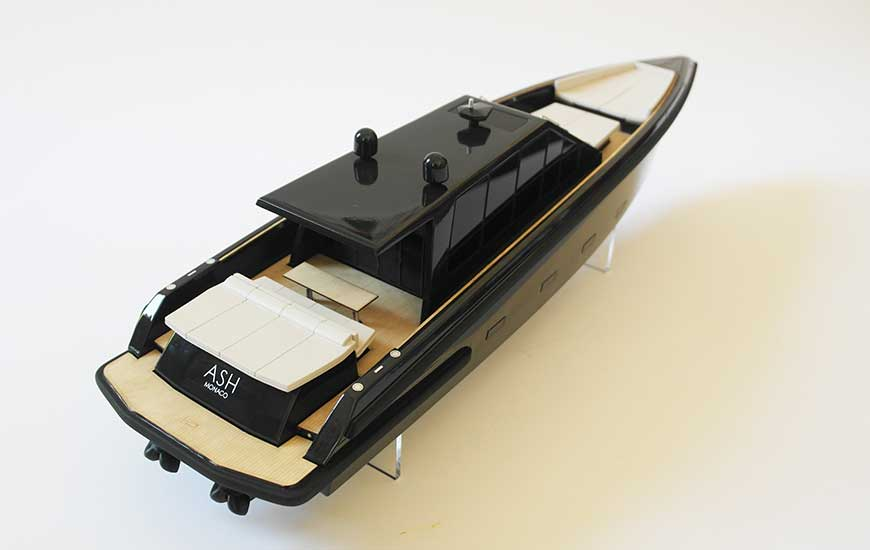 ZORTRAX Superfici 3D Printed Model Yacht