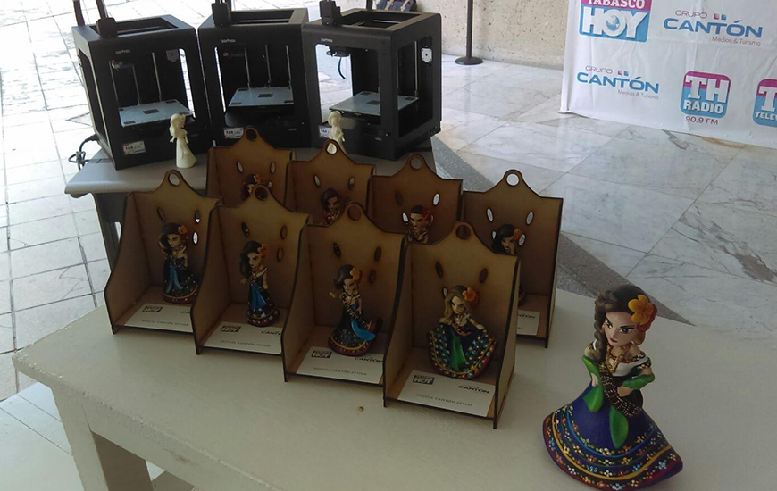 ZORTRAX Mexico 3D Printer Flor Tabasco