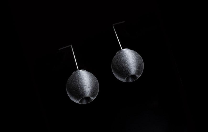 ZORTRAX 3D Printed Nemesis Earrings