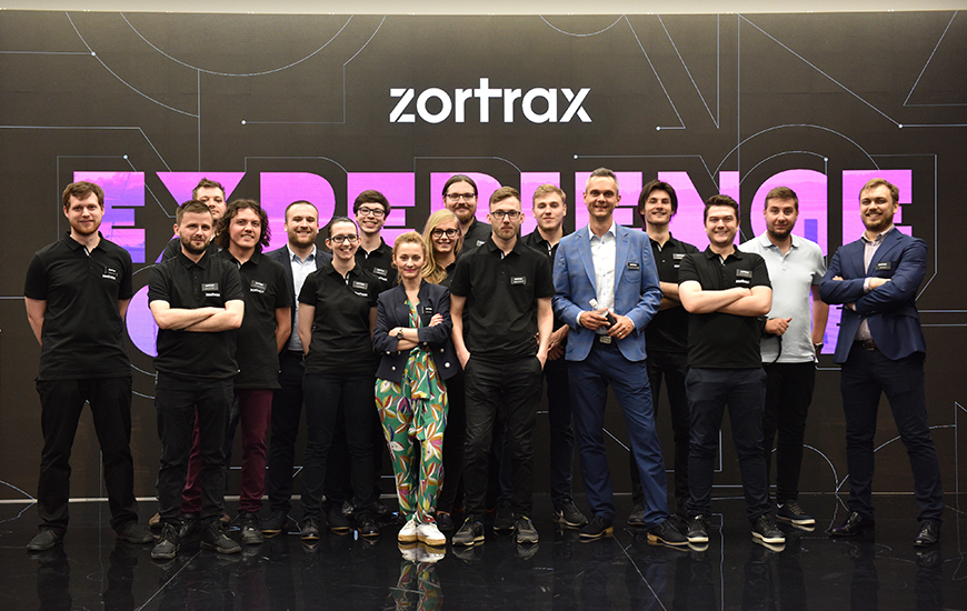 Zortrax team at Zortrax Experience