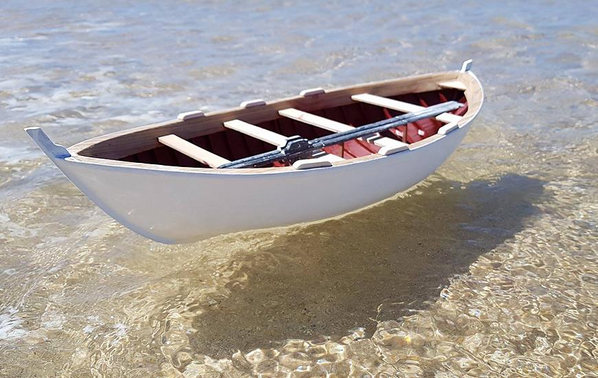 ZORTRAX Palmeira Boat Scale Model Water