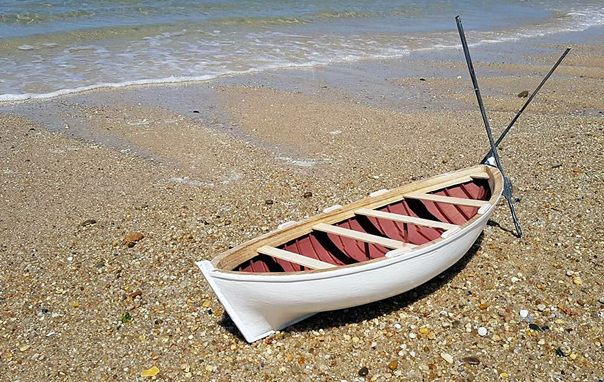 ZORTRAX Palmeira Boat Scale Model Beach